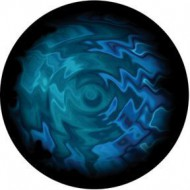 ROSCO GOBO VIDRIO 86736, AQUATIC SWIRLS, Color