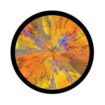 ROSCO GOBO VIDRIO 86738, KLEE MOTIF, Color