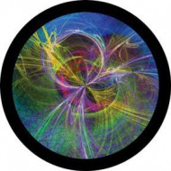 ROSCO GOBO VIDRIO 86737, STRUNG THEORY, Color