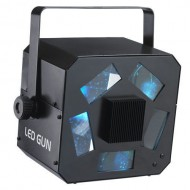CONTEST LED-GUN Proyector LED RGBW 10W