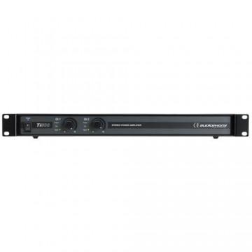 AUDIOPHONY Ti500- Amplificador clase D 2x250W@4 Ohms-1x500W@8-1U