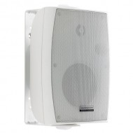 "AUDIOPHONY EHP410w -Altavoz pared 4"" L70/100V ABS 2,5/5/10W BLANCO"