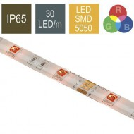 CONTEST COLORTAPE3065, Tira 30 LED/m RGB IP65