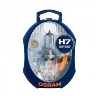 LAMPARA OSRAM CLK H7 12V ESTUCHE CON 6 LAMPARAS)