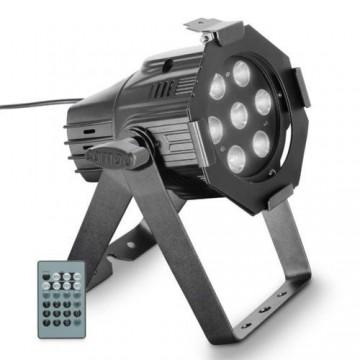 CAMEO STUDIO MINI PAR Q 4W W 7 LED BLANCOS DE 4W cuerpo negro