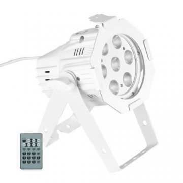 CAMEO STUDIO MINI PAR Q 4W 7 LED BLANCOS 4 W cuerpo blanco