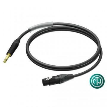 PROCAB Cable XLR HEMBRA NEUTRIK A JACK NEUTRIK 3m