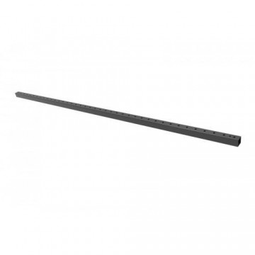 ADMIRAL Perfil cuadrado de 200 cm color negro parasistema Freedom