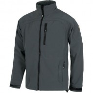 CHAQUETA WORK SHELL COLOR GRIS