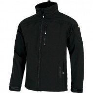 CHAQUETA WORK SHELL COLOR NEGRO