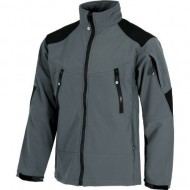 CHAQUETA WORKSHELL COLOR GRIS