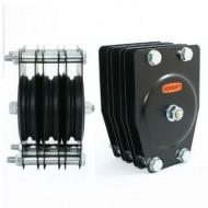 DOUGHTY POLEA ESTANDAR 3 VIAS Ø 100 mm Cable 4 mm