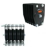 DOUGHTY POLEA ESTANDAR 5 VIAS Ø 100 mm Cable 4 mm