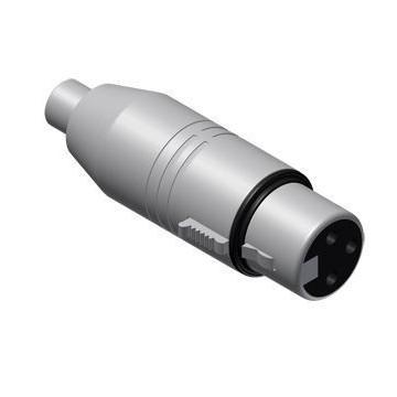 PROCAB ADAPTADOR RCA HEMBRA - XLR HEMBRA de 3 Pin