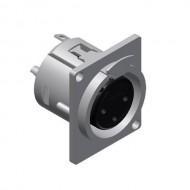 PROCAB CONECTOR XLR 3 Pin HEMBRA CHASIS