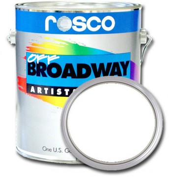 PINTURA OFF BROADWAY WHITE WHITE, 3,8 Litros ROSCO