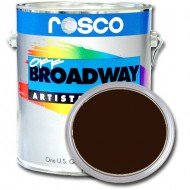 PINTURA OFF BROADWAY BURNT UMBER, 3,8 Litros ROSCO