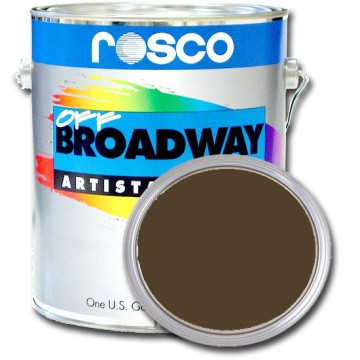 PINTURA OFF BROADWAY RAW UMBER, 3,8 Litros ROSCO