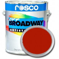 PINTURA OFF BROADWAY DEEP RED, 3,8 Litros ROSCO