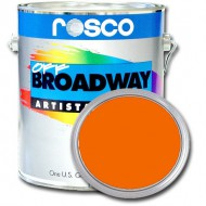 PINTURA OFF BROADWAY ORANGE, 3,8 Litros ROSCO