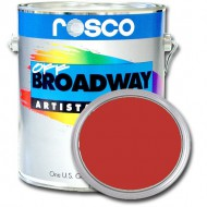 PINTURA OFF BROADWAY BRILLANT RED 3,8 Litros Rosco