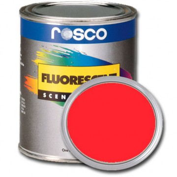 PINTURA FLUORESCENTE ROJO 0.96 Litros Rosco