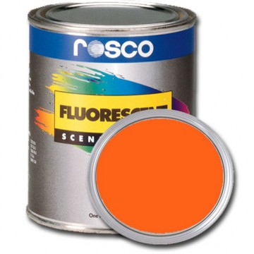 PINTURA FLUORESCENTE NARANJA 0.96 Litros Rosco