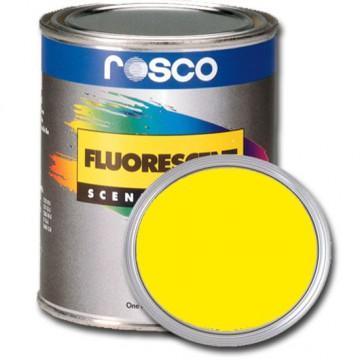 PINTURA FLUORESCENTE AMARILLO 0.96 Litros Rosco
