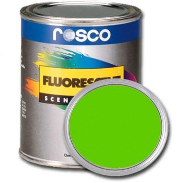 PINTURA FLUORESCENTE VERDE 0.96 Litros Rosco