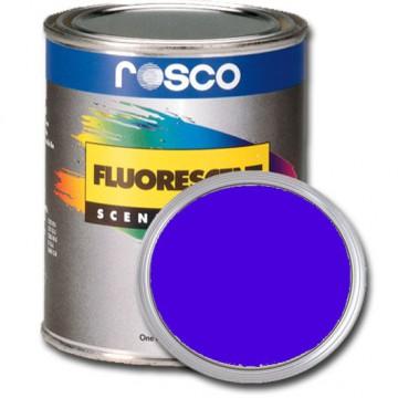 PINTURA FLUORESCENTE AZUL 0.96 Litros Rosco