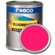 PINTURA FLUORESCENTE ROSA 0.96 Litros Rosco