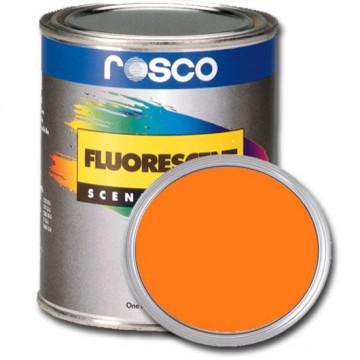 PINTURA FLUORESCENTE ORO 0.96 Litros Rosco