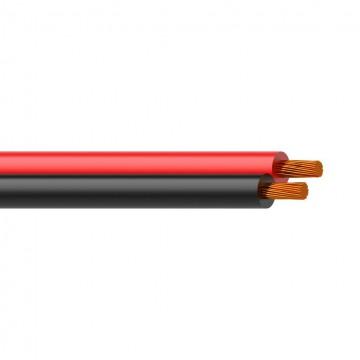 PROCAB CABLE ALTAVOZ ROJO Y NEGRO 2X2,50 mm2 13AWG