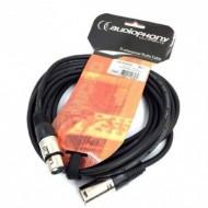 AUDIOPHONY CM/XFXM-1,5-CABLE DE MICRO XLR M/XLR H1,5 m