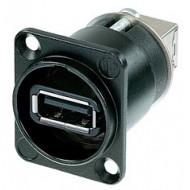 NEUTRIK USB CHASIS NEGRO NAUSB-WB