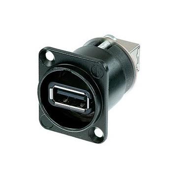 USB CHASIS NEGRO NEUTRIK