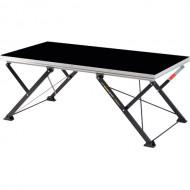 NIVOFLEX PLATAFORMA STABILO TIJERA 200X100 cm TABLERO NEGRO 22 mm