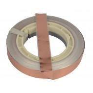 AUDIOPHONY BM-CU50 CINTA DE COBRE 50 m 18x0,1 mm PA BUCLE MAGNETICO