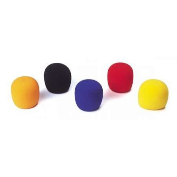 HILEC WINDSCREEN 5 Espumas antiviento de colores para micro