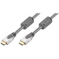 CABLE HDMI-HDMI GRIS 1,0 m HOME THEATER