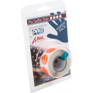 CINTA PROGAFF DOTS 19mm 100u/rollo ORANGE