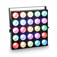 CAMEO PANEL MATRIX 10W RGB 5x5