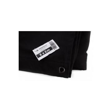 ADMIRAL Telón Ancho 6m x Alto 6m color negro 320 gr/m2