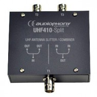 AUDIOPHONY UHF410 SPLITTER 2 EN 1 IN/OUT BNC