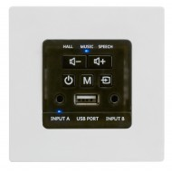 AUDIOPHONY WALLAMP USB AMPLIFICADOR MURAL 2X30W