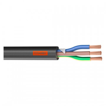 TITANEX CABLE HO7RNF 3 x 1,5 mm Flexible precio metro