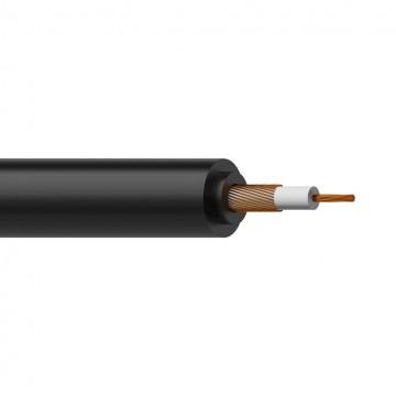 PROCAB CABLE MICROFONO - INSTRUMENTO 0,22 mm NEGRO- 1 m No balanceado