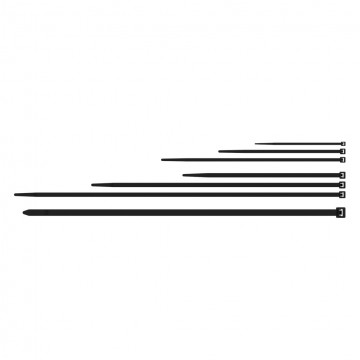 PROCAB Paquete 100u Brida Nylon 7,2 x 350mm Negra