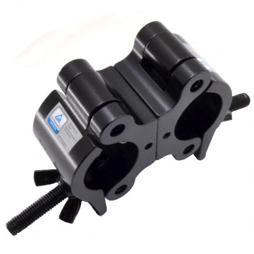 TRITON ABRAZADERA DOBLE 38-52mm 500Kg 50mm. Negro
