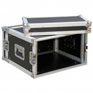 JV CASE FLIGHTCASE RACK 6 Unidades rack 19""